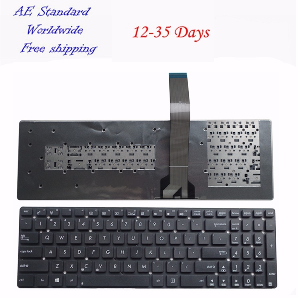 US Laptop Keyboard For ASUS A55V K55V A55VM A55VD K55VD R500v R700V New Black English