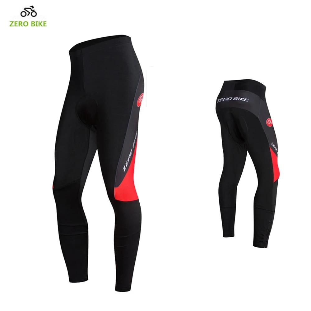 Cycling Pants Bike Tights Bicycle Trousers Men/'s Long Pants Black