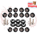 Free Shipping Aluminum Fender Washers/washers and bolts for Honda /6MM blots 1set=20pcs