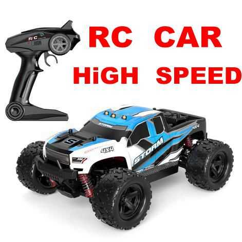 Mjd R301 36Km/Jam 55Km/Jam 1/18 2.4G 4WD Kaki Besar RC Kecepatan Mobil Balap dengan Kecepatan Tinggi Mobil -Jalan Kendaraan Mainan Vs A959-b A959 A979-1-b