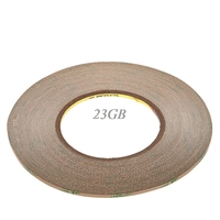 300LSE 4mm*55m Super Sticker Double Side Adhesive Tape Fix For Cellphone Touch Screen LCD J12