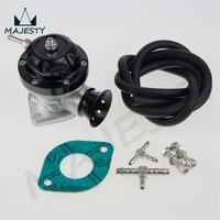 Universal Typ RS Aluminium einstellbare 30PSI BOV Turbo blow off ventil schwarz auf