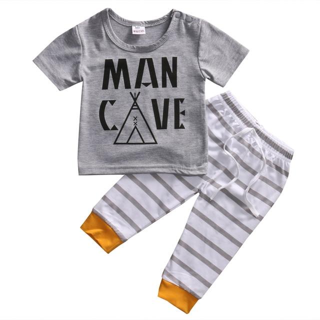 Cute Toddler Kids Baby Boy Clothes 2017 Summer Baby Boy T Shirt Tops