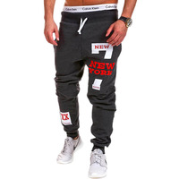 Mens Joggers Male Trousers Men Pants Mallas Hombre Hip Hop Printing Letters Sweatpants Jogger 3XL