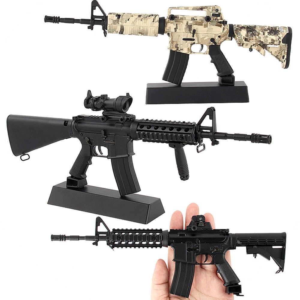 Diy Para Aleación Recogida 1 La De No Montar Metal Modelo M4a1 6 Disparar Juguete Mini Pistola Puede mN8wn0Ov