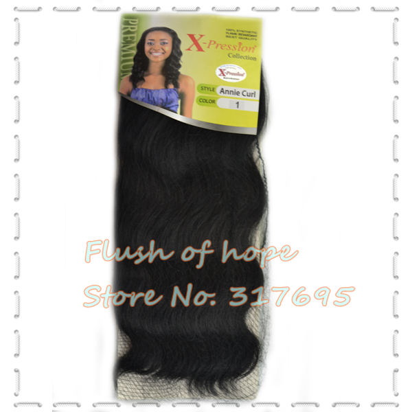 X Pression Annie Curl Synthetic Hair Extensions Flame Retardant