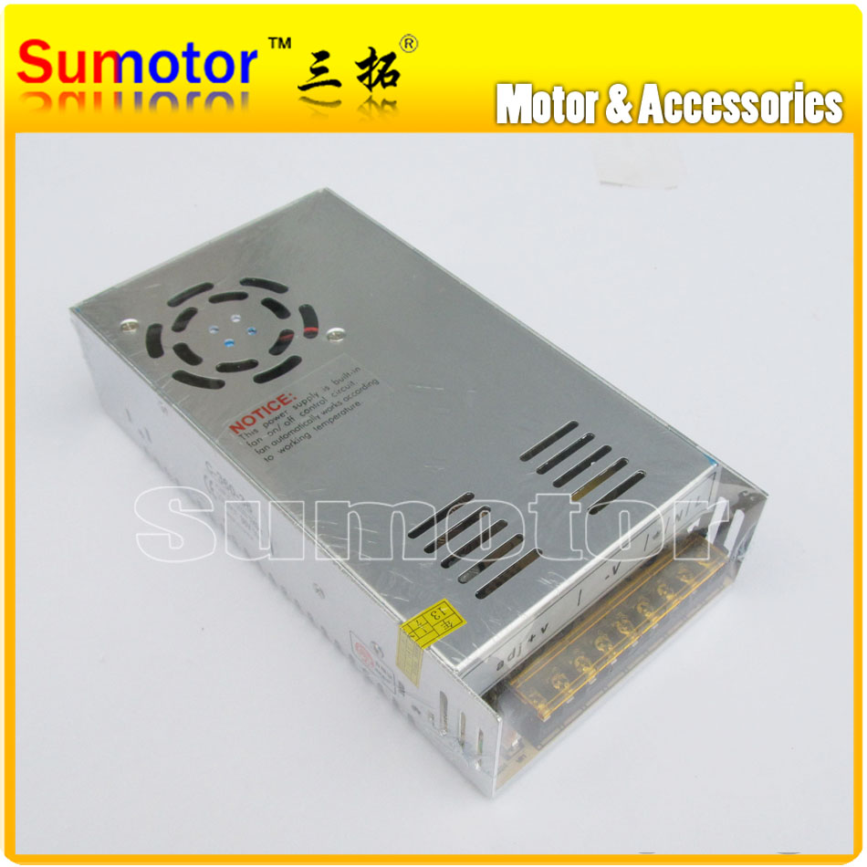 AC to DC 36V 10A power supply switch control, Electric adapter, Input 100~240V, 50/60Hz, Output 36V, 10A, monitor/ DC motor цена