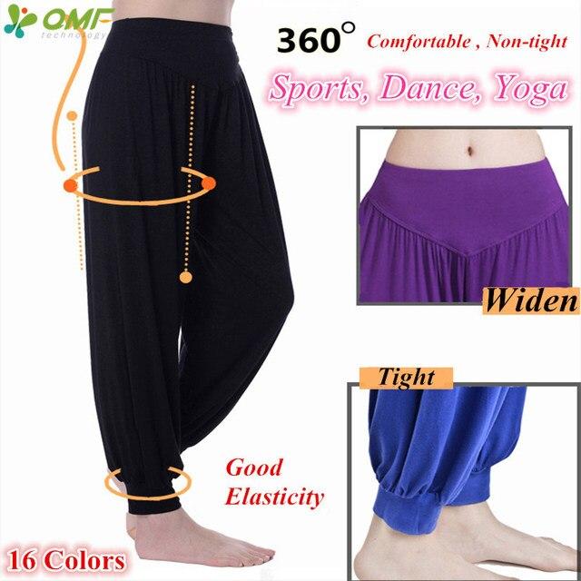 Yoga Pantalones Alta Cintura De Modal Deportivos KJ3T1Fcl