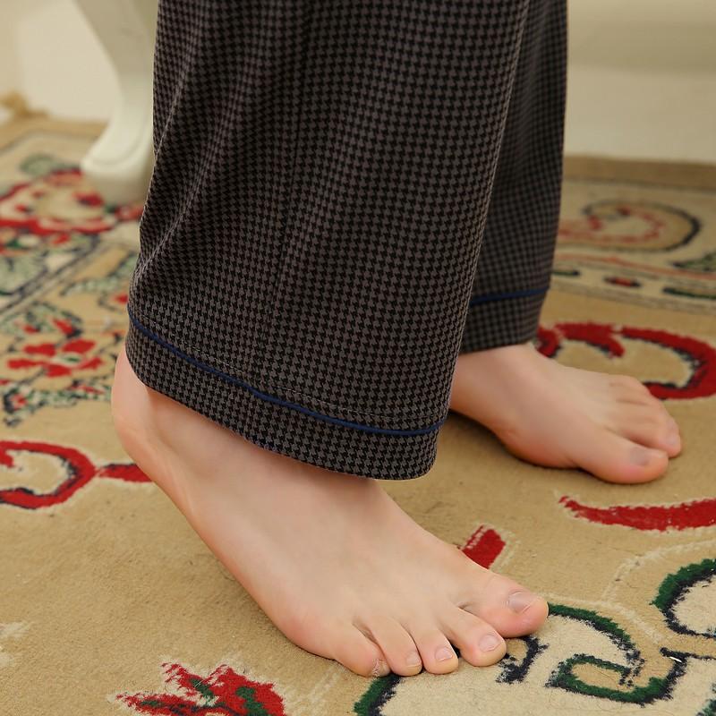 Men\'s Cotton Polyester Pajama Sets RBS-C LYQ1414 24