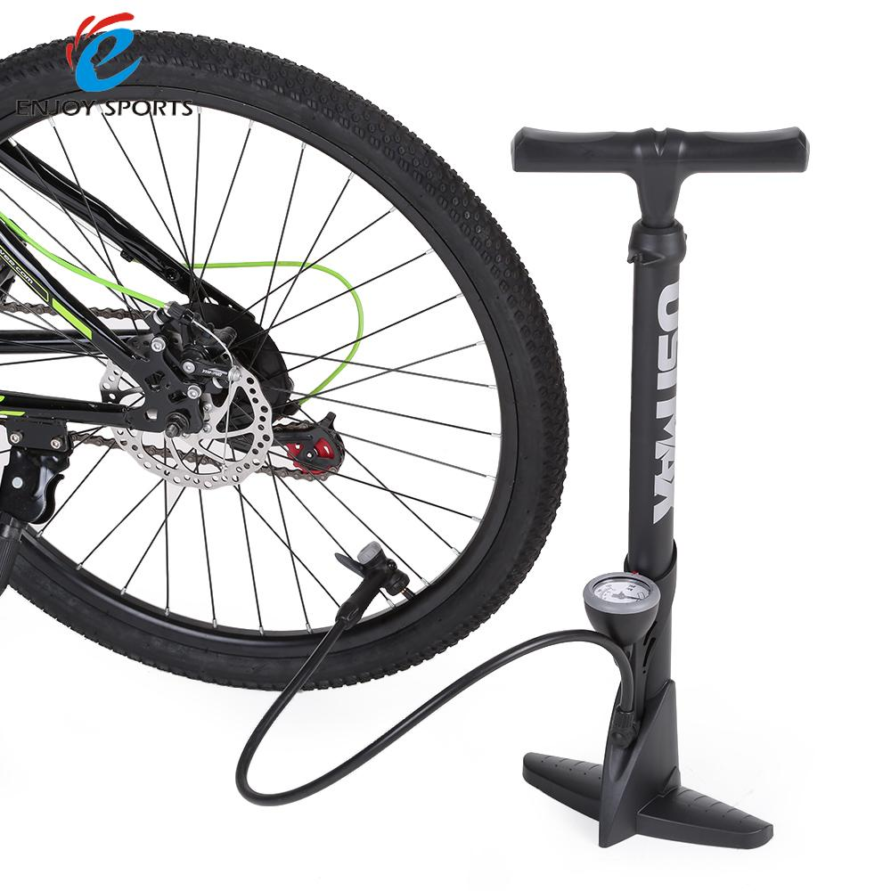 High Pressure Bicycle Floor Pump Super Light Bike Pressure