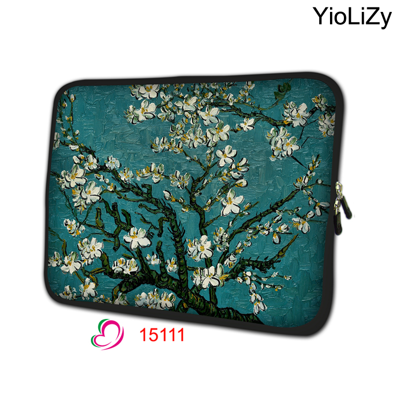 Cherry tree Laptop Bag Protective case Notebook liner sleeve 7 10 12 13 14 15 15