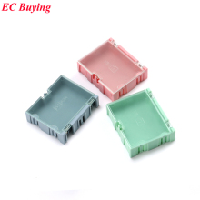 1pcs New Arrival SMD SMT IC Electronic Component Mini Storage Box and Practical Jewelry Storaged Case 75*63*21mm 3 colors