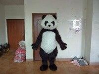 2017 Горячая saleClassic панда талисман костюм панды талисмана гигантская панда талисман костюм Бесплатная доставка