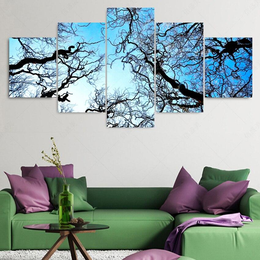 ᐂ5 unidades imagen petróleo pintura cuadros decoracion Wall ...