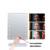 LED Espejo Espejo de Maquillaje Profesional de 2016 mujeres de La Manera señora Mesa de Maquillaje Espejo de maquillaje conjunto de salud y belleza maquillaje herramienta DMT291