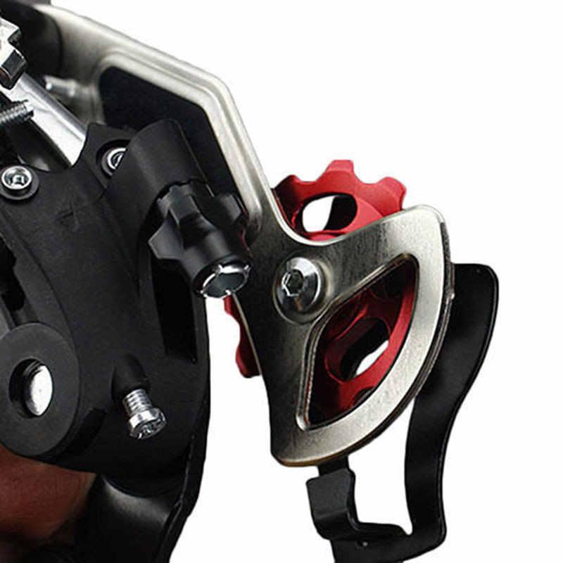 11 الأسنان MTB السيراميك تحمل عجلة شدادة بكرة الطريق دراجة دراجة Derailleur الدراجة اكسسوارات الدراجة دليل الأسطوانة 5 مللي متر 6