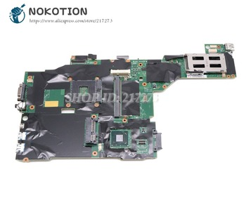 NOKOTION For Lenovo Thinkpad T430 Laptop Motherboard SLJ8A DDR3 04Y1421 00HM303 00HM307 00HM305 04X3643 Main Board