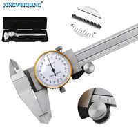 0-150mm Metric Gauge Measuring Tool Dial vernier caliper Shock-proof Vernier Caliper