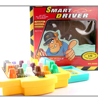 SMART DRIVER Board Game Funny Cards Game Puzzle Game Education 120 Levels Board Games Gift For Kids
