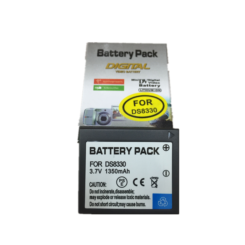 DS8330 Li-ion Battery pack 8330 lithium batteries DS 8330 For Pentax A350 SL83 E1000 W800 83S Z5 Digital camera Battery