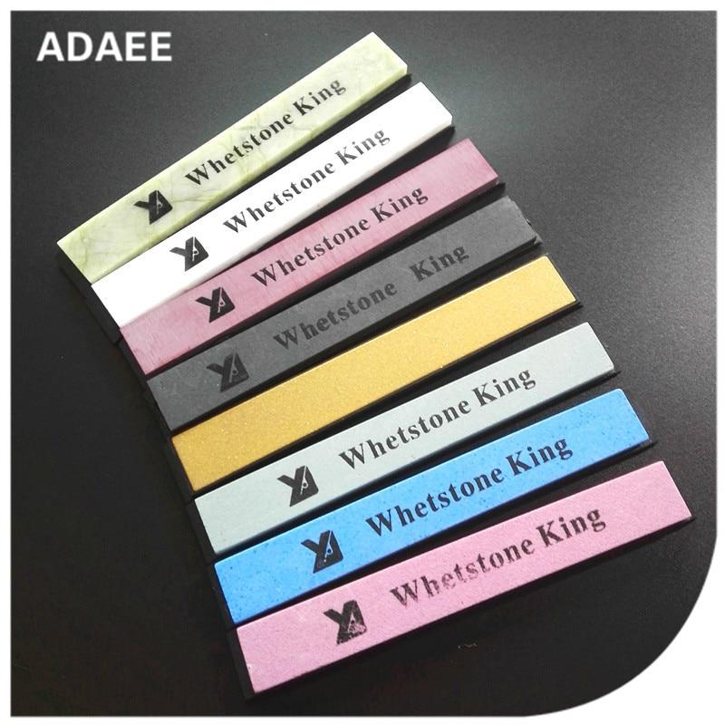 Adaee 8 հատ հատ 240,320,400,800,600, 3000,6000,8000 Կերամիկական Whetstone սրբող քարեր դանակով սրիչ