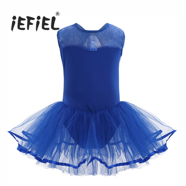 d7dac84ca iEFiEL Children s Ballet Dancing Dresses Girls Sleeveless Cutout ...