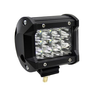 Image 2 - 4 Inch 36W Three Rows Led Light Bar Car Work Light Car Decoration Daytime Running Lights Modified Off Road Roof Light Bar