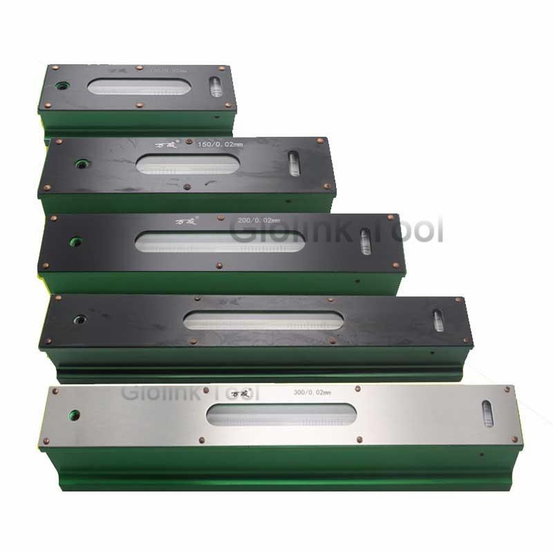 Высокое качество 0,02 мм 100/150/200/250/300 мм Высокоточный механический бар прибор для измерения уровня измерительный инструмент