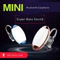Fone de ouvido estéreo bluetooth V4.0 fone de ouvido fone de ouvido handfree mini fones de ouvido bluetooth sem fio universal para telefone celular
