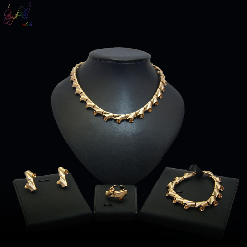 Artificial Jewellery Sets For Wedding: Yulaili Artificial Jewellery Designs For Wedding Alloy