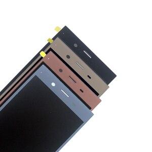Image 2 - Para Sony Xperia XZ1 G8341 G8342 Monitor LCD Digitador Assembléia Vidro Sony Xperia XZ1 Exibição do Monitor LCD Frete grátis