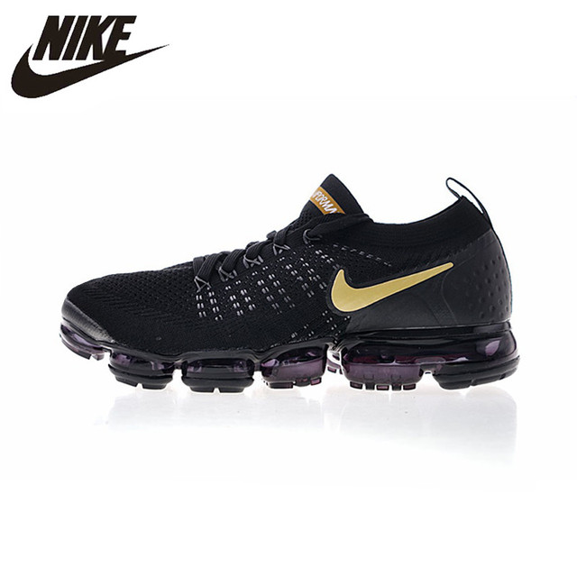 NIKE AIR VAPORMAX FLYKNIT 2 Mens and Women Running Shoes Lightweight  Sneakers 942842-009 Black 36-45 6672ef11ddb0