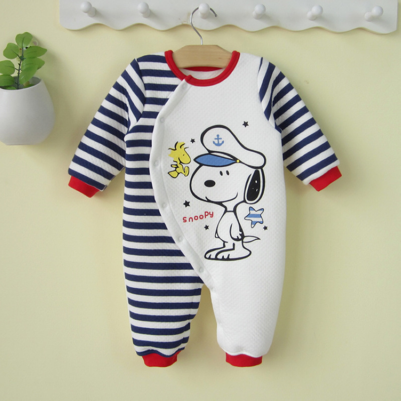 Enterotoxigenic 0 1 Year Old Male Baby Clothes Spring And Autumn