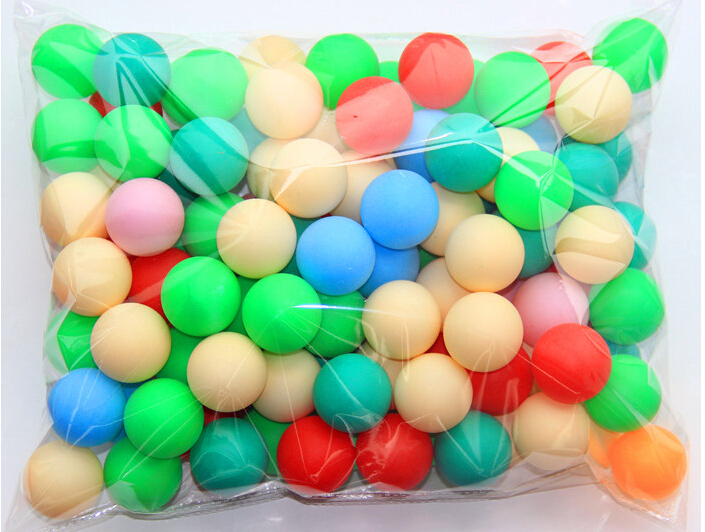 100pcs game ball raffle lottery ball table tennis pingpong for 100 table tennis balls