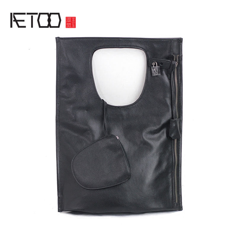 AETOO The first layer of leather leather handbags European station pure leather o big bag temperament Mature British wind hand b