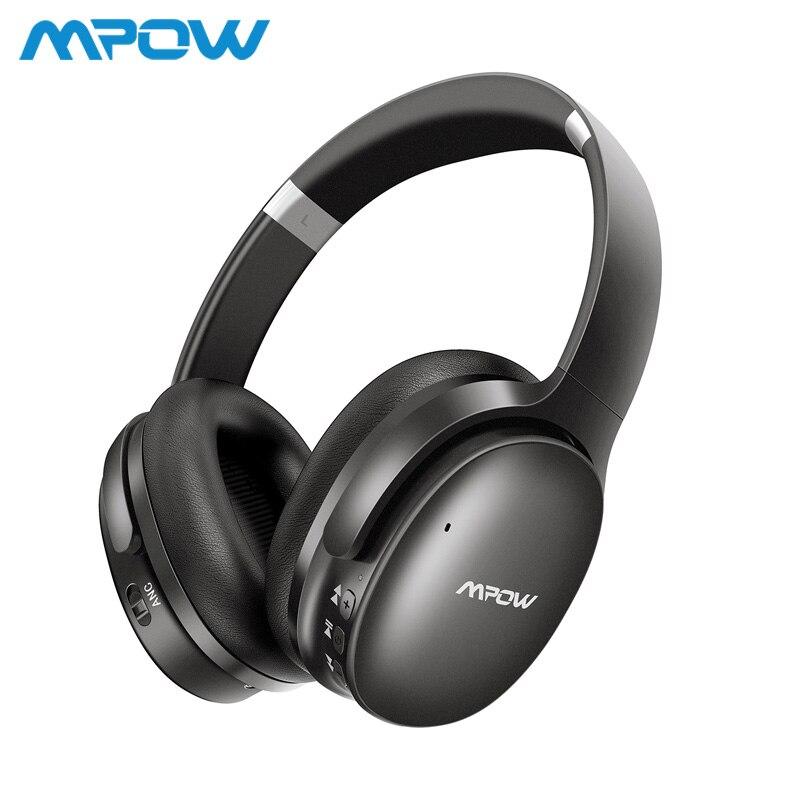 Mpow H10 Active Шум отмена Bluetooth Беспроводной наушники 18-25 часов игрового времени ANC гарнитура с микрофоном для iPhone huawei Xiaomi