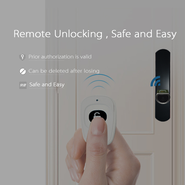 L6SRB WELOCK Bluetooth Smart Lock Electronic Cylinder Outdoor Waterproof  Biometric Fingerprint Scanner Keyless Door Locks