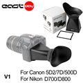 Dustproof 2.8 times/3 inches LCD Viewfinder Extender V1 For Canon 5d2 mark iii 6d 7d 450d 40d 50d 1d and Nikon D7100 D90 D3X