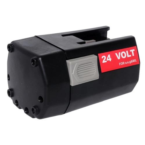 power tool battery for Mil 24V 3000mAh BXL24 BXS24 Mini Relay SH04 16/Mini Relay SH04 17/MXS24,BBH24
