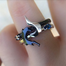 S925 joyería Anillos de Compromiso de plata esterlina LoL Hero Master parejas amantes anillos Kindred anillo juego joyería