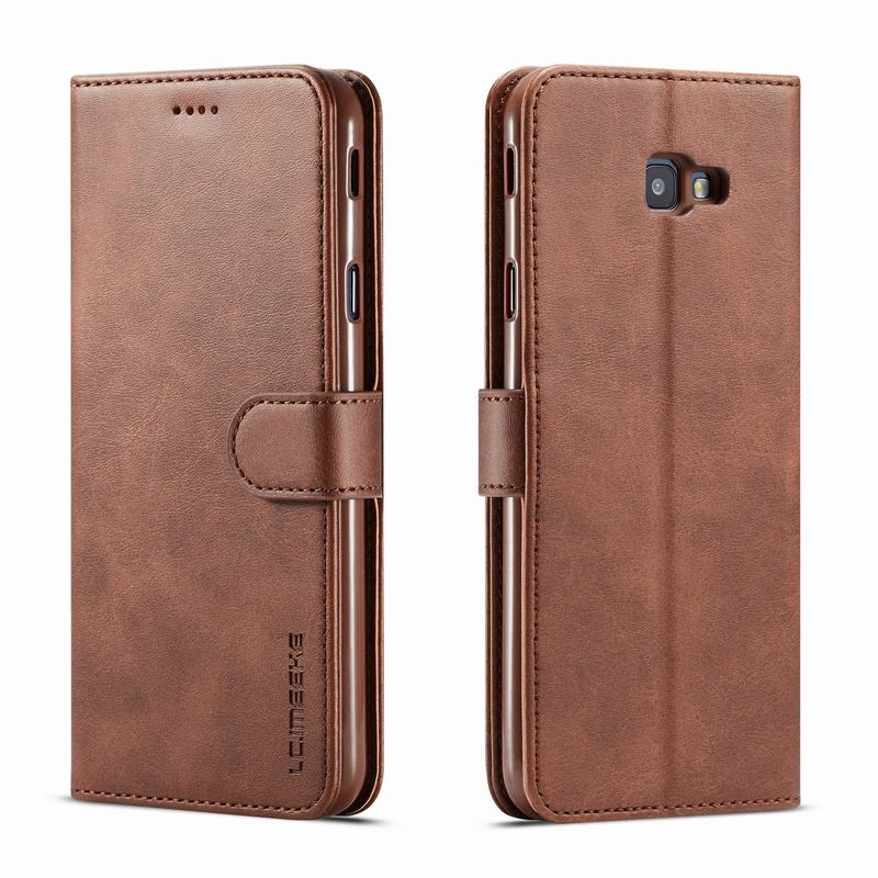 Case For Samsung Galaxy J4 J6 Plus Luxury High Quality Wallet Magnetic Flip Leather Cover For SAMSUNG J 6 4 2018 Phone Bag Coque