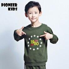Pioneer Kids sweatshirts 2016 New kids Sweatshirts hoodies Boys 100%Cotton high quality character printed Wholesale&Retail