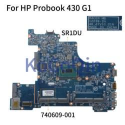 KoCoQin laptopa płyta główna do HP Probook 430 G1 rdzeń 3558u 740609 001 740609 501 płyty głównej 12239 1N 48.4YV10.01N SR1DU w Płyty główne do laptopów od Komputer i biuro na