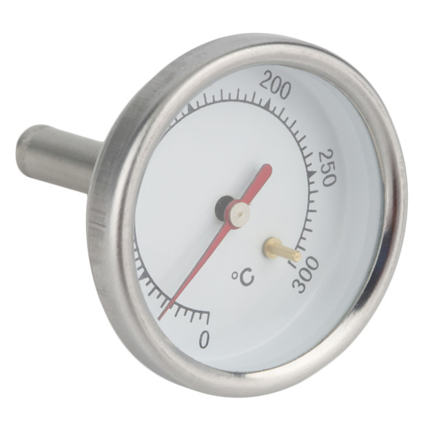 Dapur Rumah Stainless Steel Susu Espresso Coffee Buih Thermometer