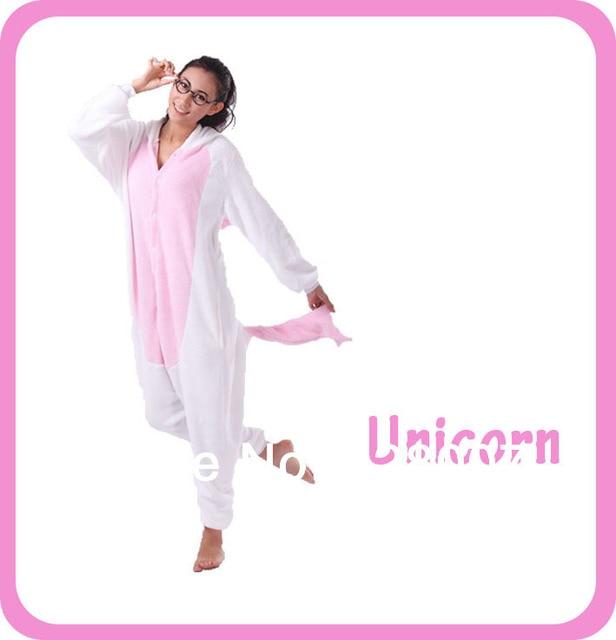 Adult Unisex Unicorn Onesie Pajamas One Piece Sleepwear for Women