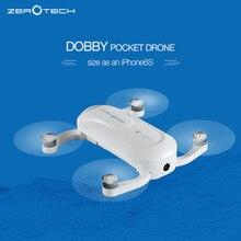 Mini Saku Saku Dobby ZEROTECH Selfie Drone FPV Dengan 4 K HD Kamera GPS Solusi Cerdas RC Quadcopter APP Kontrol F19092-A