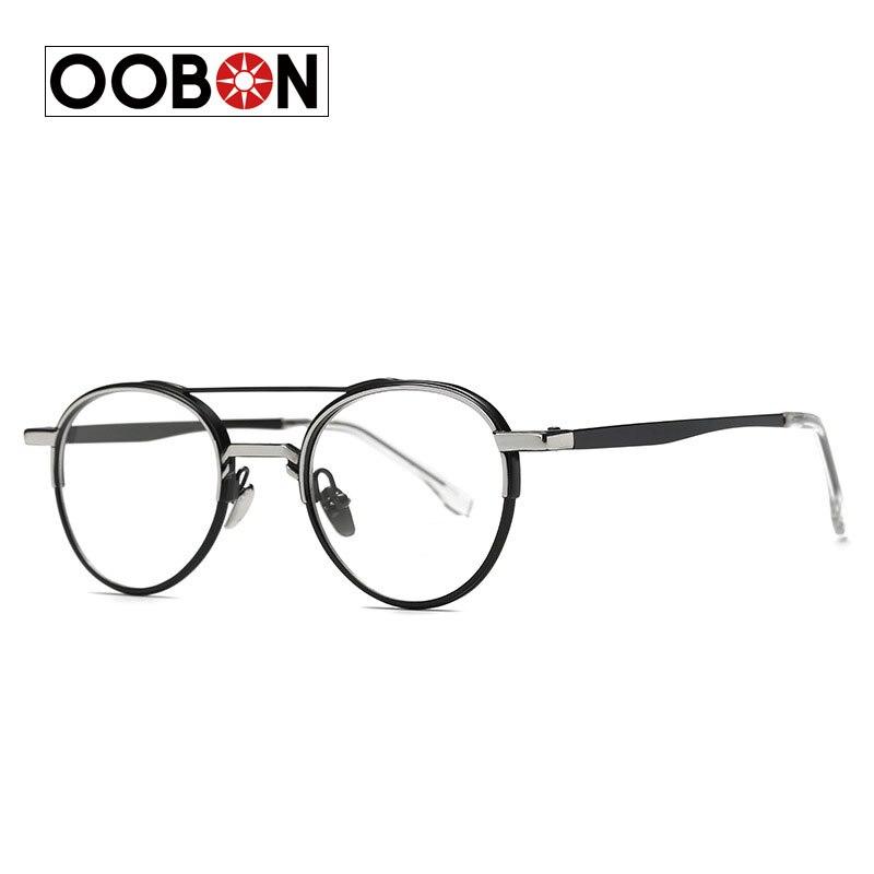 oobon 2017 high quality glasses frame vintage