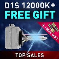 Car Styling 1 Pair 35W D1S Bulb HID Xenon Lamp Light Car Headlight Replacement 12000K GLOWTEC