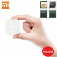 Original Bluetooth para XiaoMi MIUI Android TV Box Set-Top Box Smart Cajas de TELEVISIÓN MT8685 Quad Core 1.3 GHz RAM 1G WiFi Xiao mi 1080 P