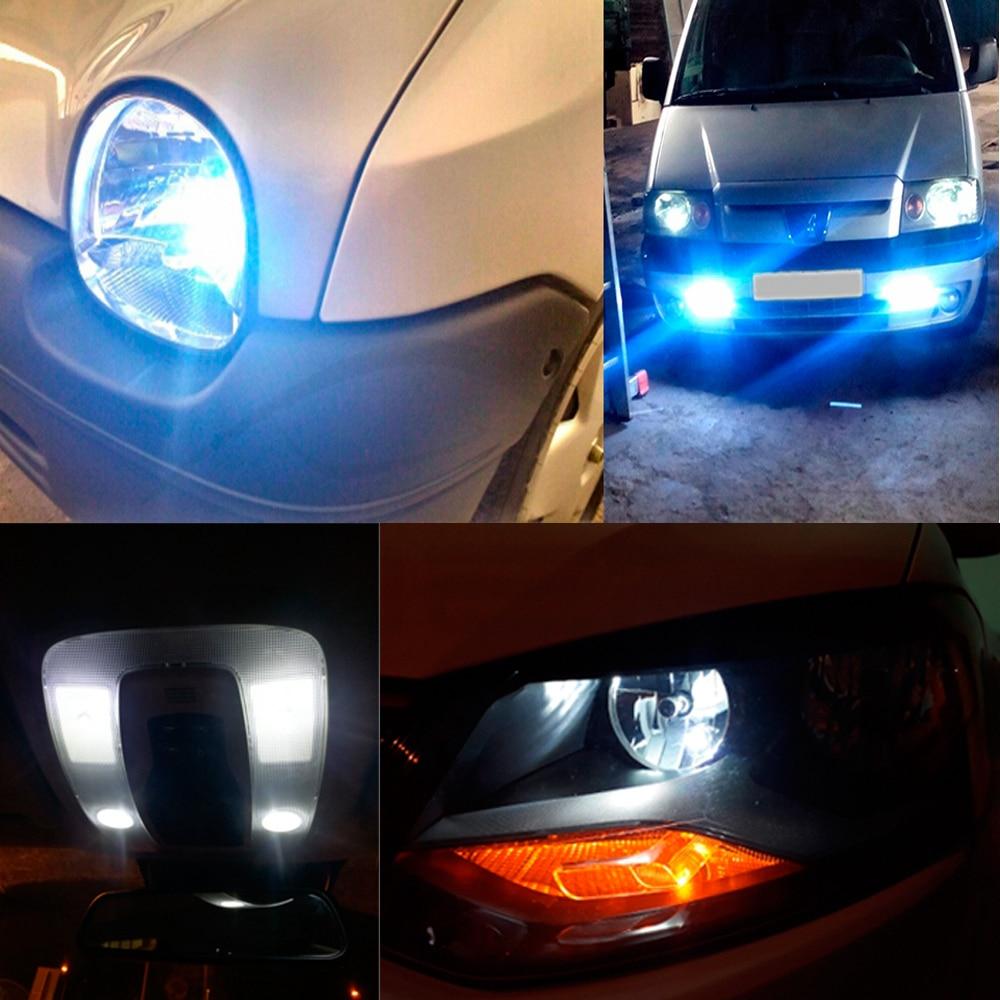 2 Error Free Canbus T10 W5W 501 5050 4 SMD LED 6000K White Car Light Power Bulbs
